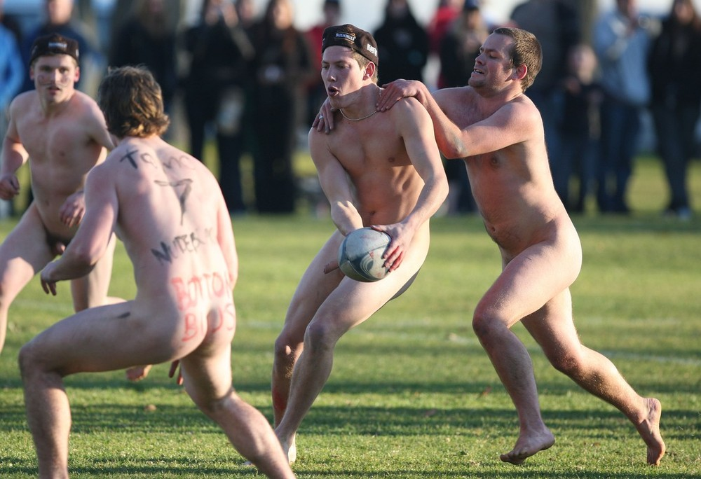 Brazilian rugby players nude